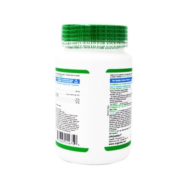 کپسول گارسینیا پلاس ارگانیکا | 90 عدد | حاوی گارسینیا، سرکه سیب و اسپیرولینا برای کمک به کاهش وزن