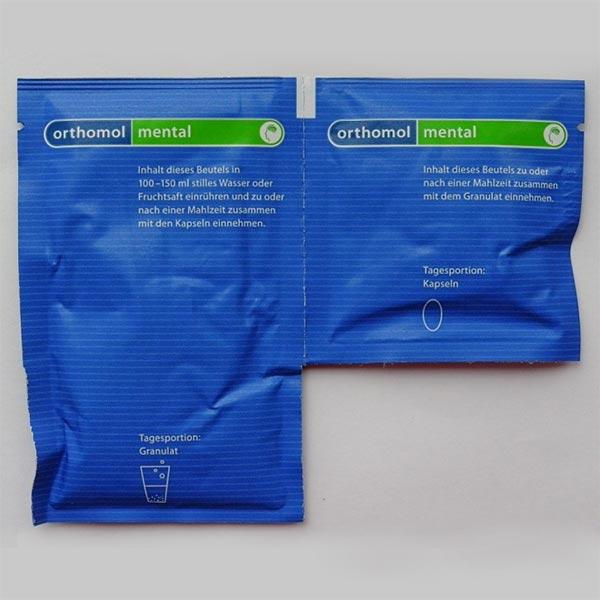 کپسول و پودر ارتومول منتال | 30 عدد | کمک به عملکرد بهتر ذهنی و افزایش تمرکز