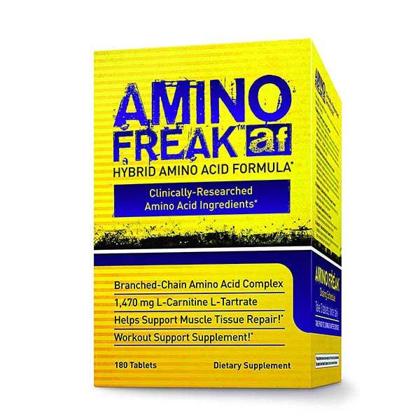 قرص آمینو فریک فارما فریک   180 عدد   کاهش تجزیه پروتئین عضلات و افزایش جذب پروتئین و اسید آمینه