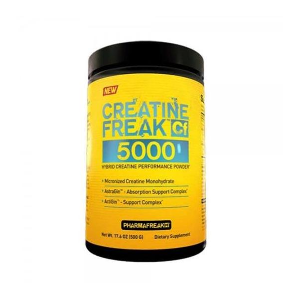 پودر کراتین فریک 5000 فارما فریک | 500 گرم | افزایش قدرت و استقامت عضلات