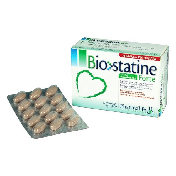 قرص بیوستاتین فورت فارما لایف | 60 عدد | کمک به کنترل و کاهش کلسترول خون