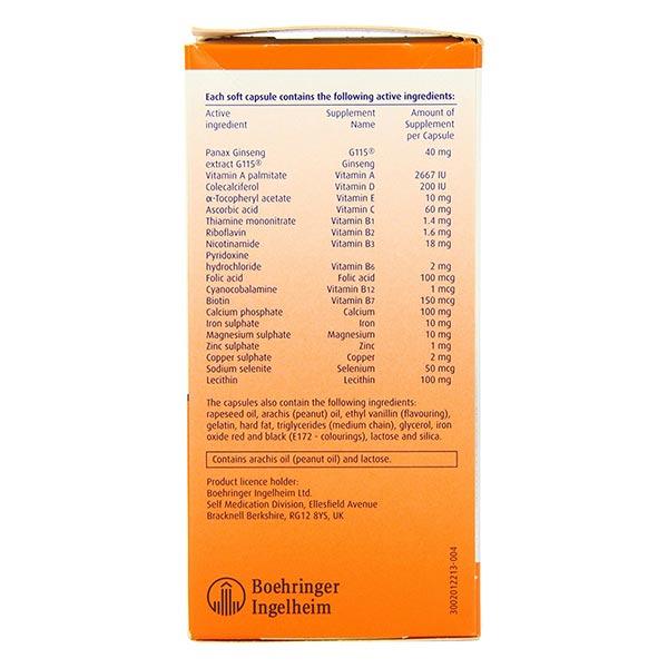 کپسول مولتی ویتامین ژریاتریک فارماتون | 100 عدد | کمک به بهبود شرایط روحی، جسمی و تمرکز ذهنی