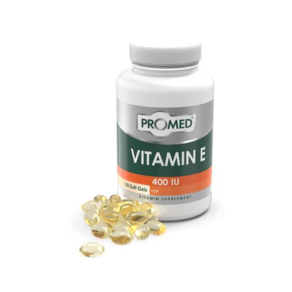 کپسول ویتامین ای پرومد   100 عدد   تقویت سیستم ایمنی، ماهیچه ها، پوست و مو