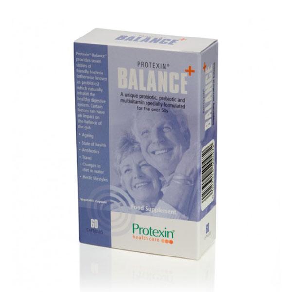 کپسول بالانس پلاس پروتکسین هلث کر | 60 عدد | کاهش اختلالات گوارشی، برای افراد 50 سال به بالا