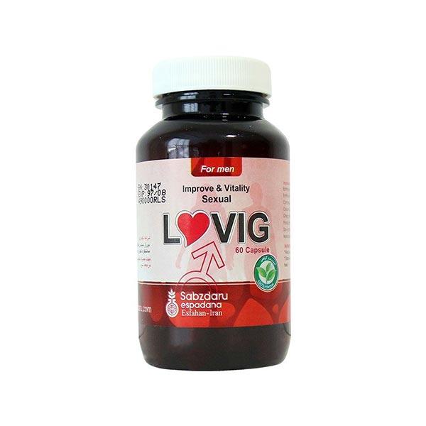 کپسول گیاهی لاوویگ سبز دارو | 60 عدد | بهبود انزال، افزایش قدرت جنسی و جسمی آقایان