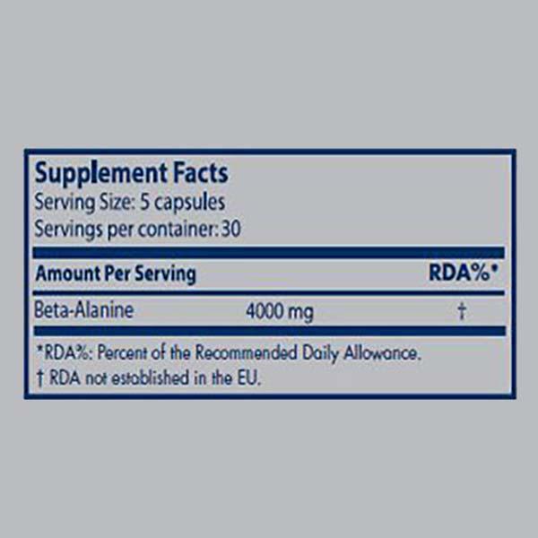 کپسول بتا آلانین سایتک | 150 عدد | بهبود عملکرد عضلات و کاهش خستگی عضلات