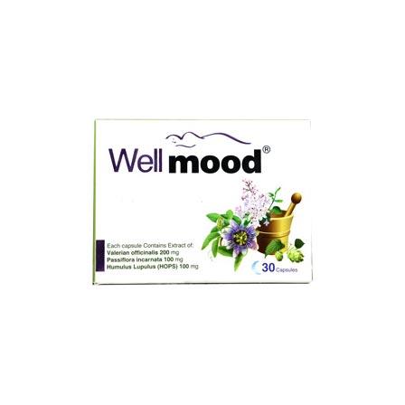 کپسول ول مود سپید طب   30 عدد   کمک به درمان بیخوابی، سردرد و دردهای قاعدگی