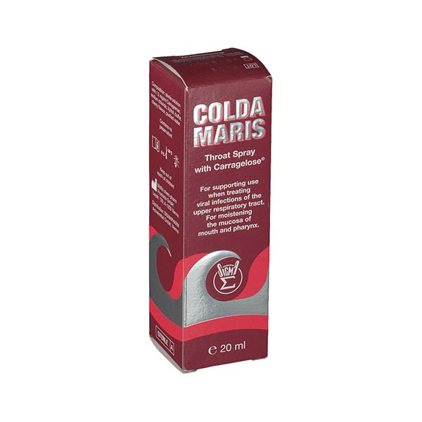 اسپری دهانی کلداماریس زیگما فارم | 20 میل | کمک به کاهش مشکلات ناشی از خشکی یا تحریک گلو