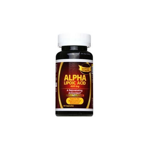 کپسول آلفا لیپوئیک اسید ساپورت نوتریشن | 60 عدد | کمک به پاکسازی و سم زدایی بدن