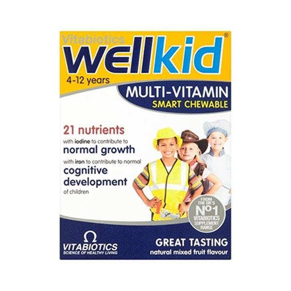 مولتی ویتامین جویدنی ول کید ویتابیوتیکس | بهبود سیستم ایمنی نوزادان و کودکان