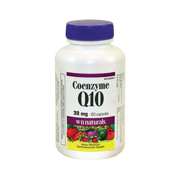 کپسول کوآنزیم کیو-10 30 میلی گرم وبر نچرالز | 60 عدد | تقویت سیستم قلبی-عروقی