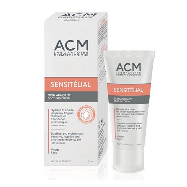 کرم مرطوب کننده و ضد قرمزی سنسی تلیال ای سی ام | برای پوست های خیلی حساس