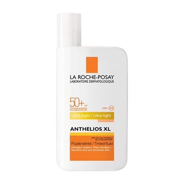 فلوئید ضد آفتاب رنگی ضد آکنه لاروش پوزای | 50 میلی لیتر | مناسب برای پوست های حساس و چرب