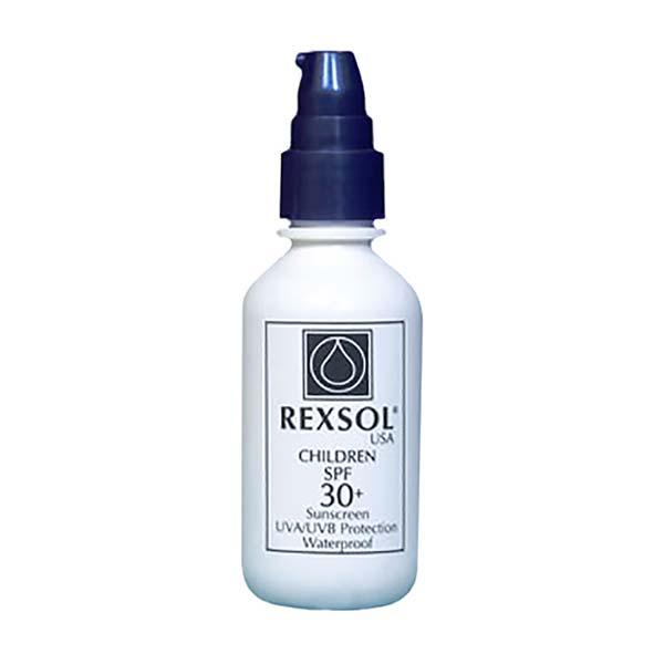 لوسیون ضد آفتاب کودک رکسول   60 میلی لیتر   ضد آب و دارای خاصیت مرطوب کنندگی
