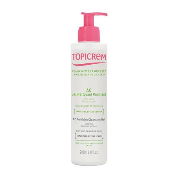 ژل شوینده پوست چرب تاپی کرم | پاک کننده و تنظیم کننده چربی