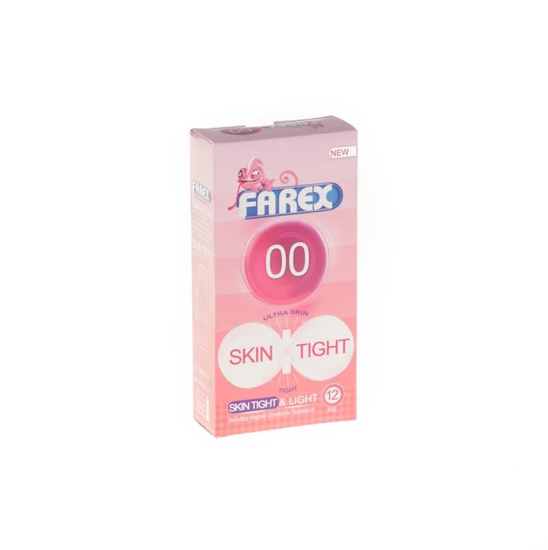 کاندوم 00 فارکس | 12 عدد | حاوی ماده تنگ کننده واژن -لوبر یکنت دو برابر روان کننده