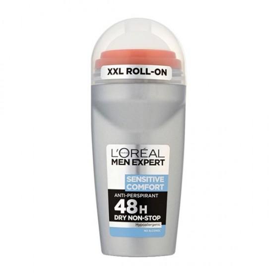 رول ضد تعریق مردانه سنسیتیو کامفورت لورال   50 میل   مناسب برای پوست های حساس