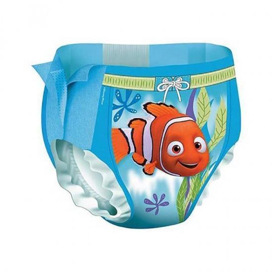 پوشک استخری بچه هاگیز سایز 3 و 4   12 عدد   ضد آب و مناسب برای استخر و شنای کودکان