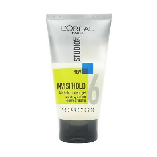 ژل اینویزی هلد شماره 6 لورال   150 میل   حالت دهنده و فیکس کننده نرمال مو بدون ایجاد چربی
