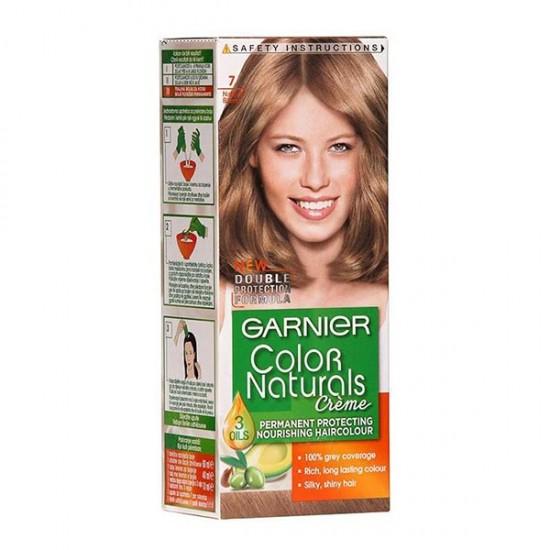 کیت رنگ مو شماره 7 گارنیه | 40 میل | بلوند طبیعی