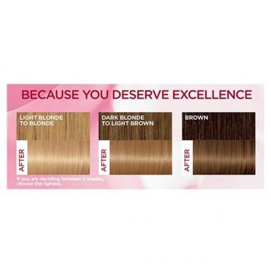 کیت رنگ مو اکسلنس شماره 8 لورال   بلوند روشن   ۵۰ میل