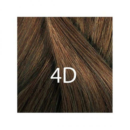 کیت رنگ مو شماره 4D فیتو | بلوطی طلایی روشن | ۴۰ میل