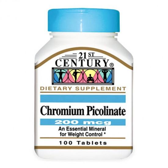 قرص کرومیوم پیکولینات سنتری | 100 عدد | کنترل اشتها و کاهش بافت چربی