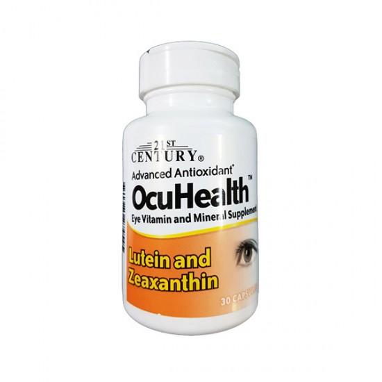 کپسول آکیو هلث 21 سنتری | 30 عدد | تامین ویتامین و مواد معدنی برای سلامت چشم
