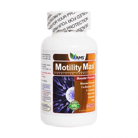 کپسول موتیلیتی مکس ای ام اس | 60 عدد | افزایش تحرک و تعداد اسپرم و کمک به بهبود باروری آقایان