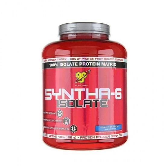 پودر پروتئین سینتا-6 ایزوله بی اس ان   1820 گرم   کمک به افزایش حجم عضلات