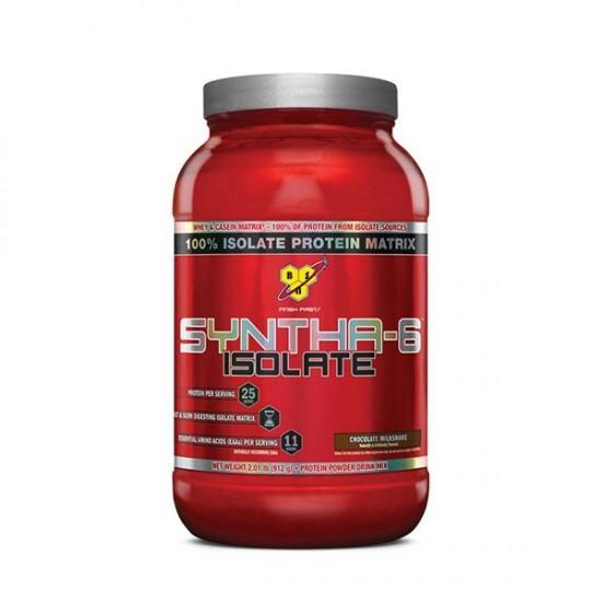 پودر پروتئین سینتا 6 ایزوله بی اس ان   912 گرم   کمک به افزایش حجم عضلات
