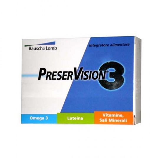 کپسول پرزرویژن 3 باش اند لامب   60 عدد   مکمل کامل برای حفظ سلامت چشم ها