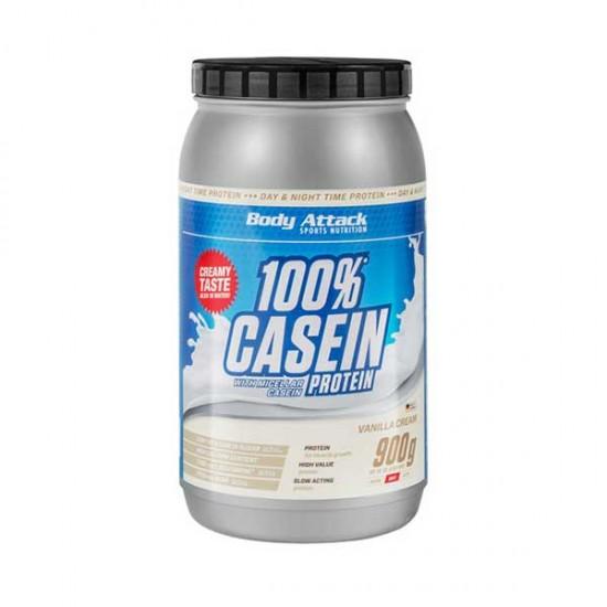 پودر پروتئین کازئین 100% بادی اتک | 900 گرم | رشد عضلات و افزایش دهنده حجم عضلات