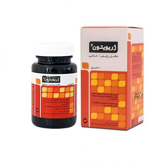 کپسول ژریویتون کاتالنت   30 عدد   مولتی ویتامین و جبران کمبود ویتامین ها و مواد معدنی