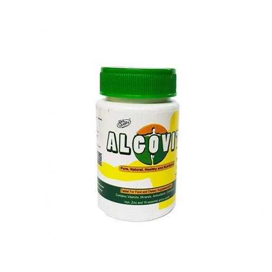 قرص آلگوویت کلرلاولگاریس | 100 عدد | تنظیم فشار خون و شادابی پوست و مو