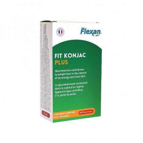 کپسول فیت کنجاک پلاس فلکسان   60 عدد   کاهش وزن و اشتها و تنظیم قند خون