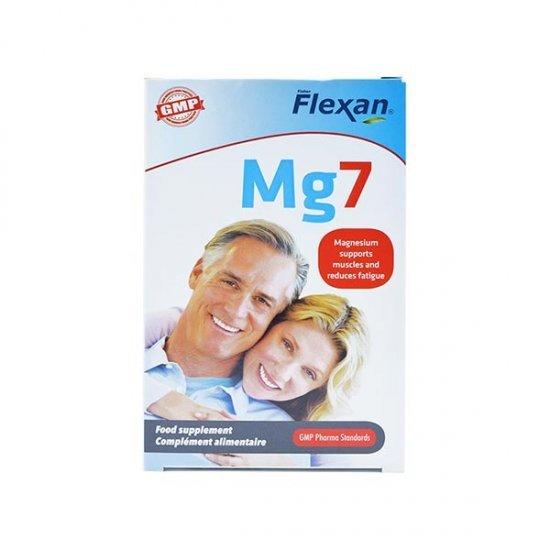 قرص منیزیم 7 فلکسان   30 عدد   بهبود عملکرد و رفع گرفتگی عضلات