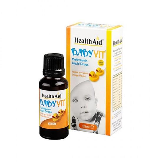 قطره بی بی ویت هلث اید | مولتی ویتامین برای کودکان به ویژه کودکان با مشکل بلع قرص