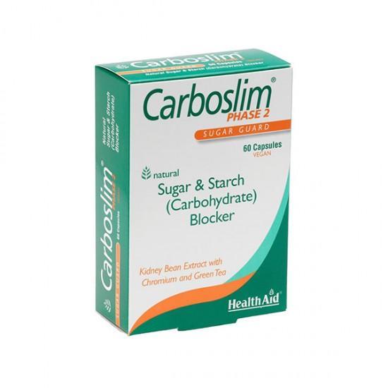 کپسول کربو اسلیم هلث اید | 60 عدد | مهار جذب کربوهیدرات برای لاغری و کاهش وزن