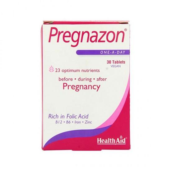 قرص پرگنازون هلث اید   مولتی ویتامین مناسب برای قبل، دوران بارداری و پس از آن