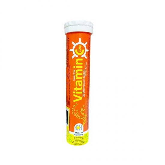قرص جوشان ویتامین C هدن کمپ   20 عدد   تقویت سیستم ایمنی و حفظ سلامت پوست