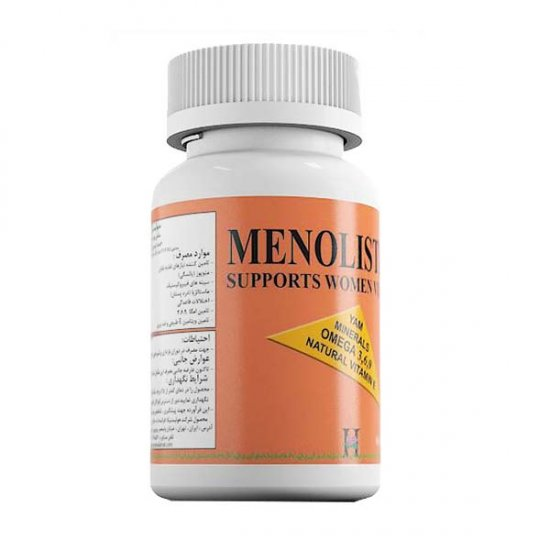 کپسول منولیستیکا آرین سلامت | 60 عدد | بهبود عوارض دوران قبل و بعد از یائسگی