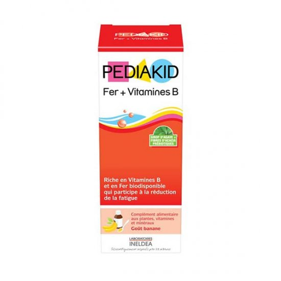 شربت پدیاکید آهن و ویتامین B اینلدا | تقویت متابولیسم انرژی و کاهش خستگی