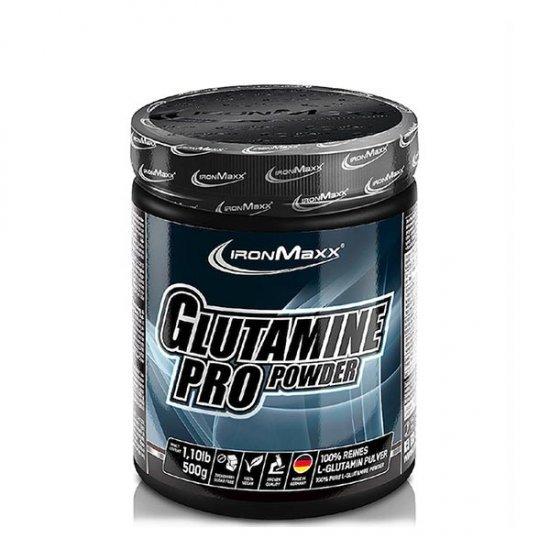 پودر گلوتامین پرو آیرون مکس   500 گرم   کاهش خستگی و ضعف عضلانی، مناسب برای بازسازی و ساخت عضلات