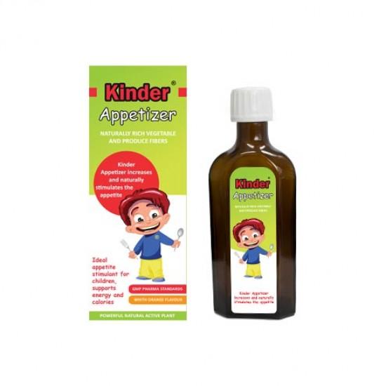 شربت اشتها آور آپتایزر کیندر | 150 میل | کمک به افزایش اشتهای کودکان و حاوی انواع ویتامین