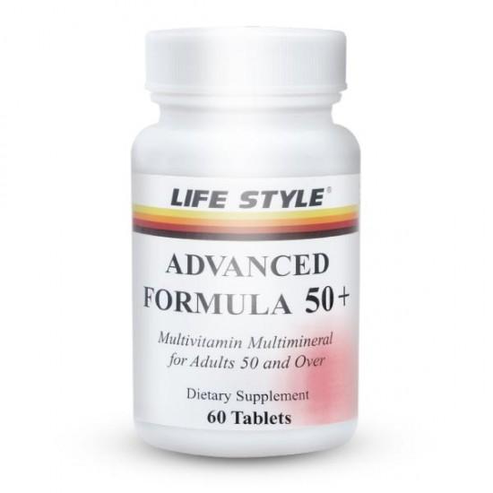 قرص ادونسد فرمولا 50+ لایف استایل | 60 عدد | مولتی ویتامین و بهبود سیستم ایمنی