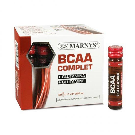 ویال خوراکی بی سی ای ای کامپلیت مارنیز | 20 عدد | افزایش حجم عضلات و چربی سوز