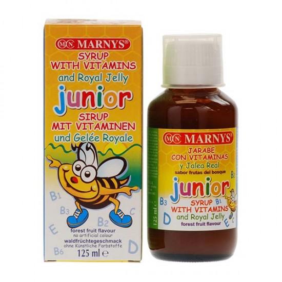 شربت جونیور مارنیز   125 میل   کمک به رشد طبیعی کودک