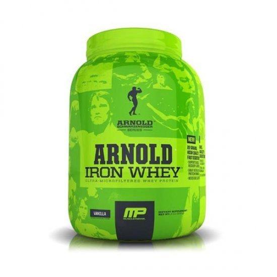 پودر پروتئین آیرون وی سری آرنولد ماسل فارم | 2270 گرم | پروتئین و افزایش توان