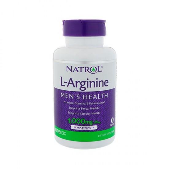 قرص ال آرژنین ناترول | 50 عدد | کمک به عضله سازی، بهبود سیستم ایمنی و قوای جنسی